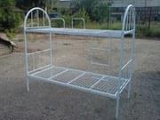 Кровати металлические для рабочих,  односпальные кровати для общежитий