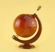 Оригинальный подарок  - Глобус (изделие из стекла ручной работы)