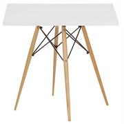 Обеденный деревянный квадратный стол Тауэр 80*80