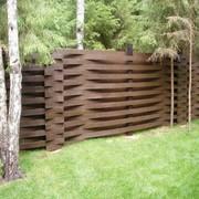 Рельефный забор