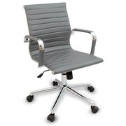 Кресло офисное Алабама,  цвет белый,  серый