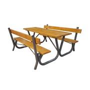 Садовый столик,  стол с лавками