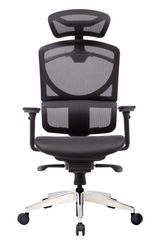 Кресло компьютерное  ERREVO ZERO в черном цвете