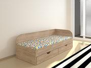 Подростковая односпальная кровать с ящиками Соня2