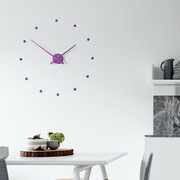 Настенные часы Nomon Oj Wall Clock,  Purple