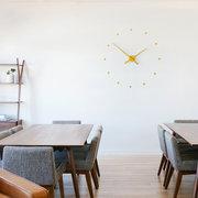 Удивительные часы Nomon Oj Mini Wall Clock,  Mustard